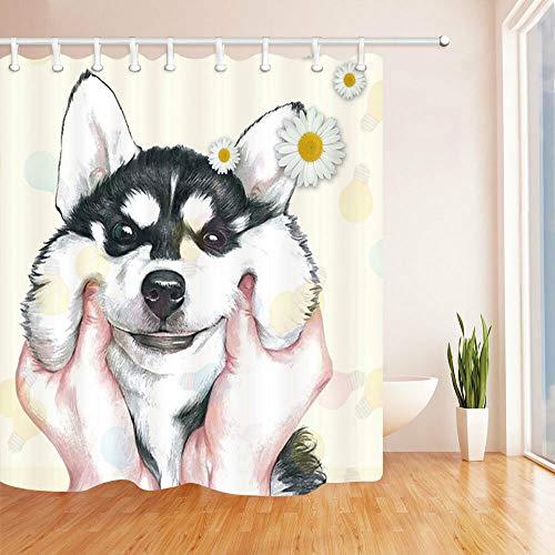 cortinas baño divertidas