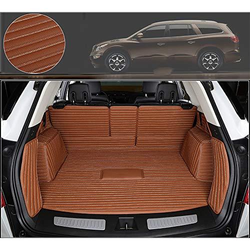 Kofferraummatte Safeguard Kompatibel Mit BMW x5,Komplett Geschlossene Kofferraummatte,Mikrofasermaterial,Ideale Passgenauigkeit,HöChste QualitäT,Geruchlos,brown-x5-5-seats-No-slides-2019