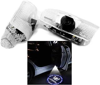 Ltsplay カーテシライト ドアウェルカムライト カーテシランプ LEDロゴ投影 20系トヨタ アルファード30系 カーテシ 角度調整機能付き 2個セット車用ドアランプ for Alphard
