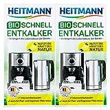 Heitmann BIO Schnell-Entkalker: Natürlicher Universalentkalker für Kaffeemaschinen, Wasserkocher,...