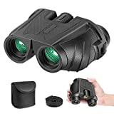 Neewer 10x25 Folding High Powered Binoculars with Weak Light Night Vision Clear Bird