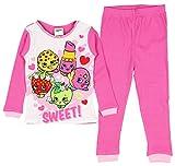 Shopkins Gang Sweet Girls Cotton Thermal Pajamas Underwear Set