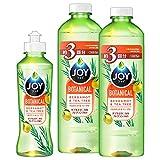 【まとめ買い】 ジョイ ボタニカル 食器用洗剤 ベルガモット&ティーツリー 本体 190mL + 詰め替え 440mL×2個