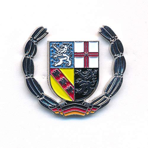 hegibaer Saarland Wappen Saarbrücken Deutschland Europa Badge Edel Pin Anstecker 0925