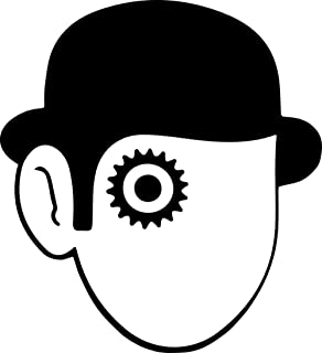 Gifts Delight Laminated 24x26 inches Poster: Clockwork Orange Vector Head Hat Face Man