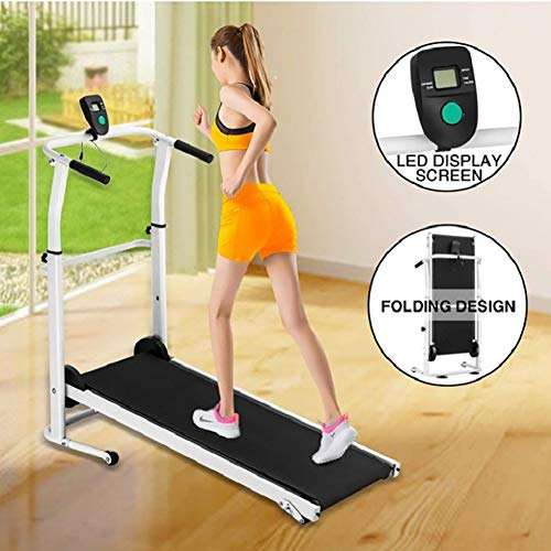 LYzpf Professionele Mini Loopband Oefening Training Machines Vouwen Cardio Machine Apparatuur voor Office en thuis