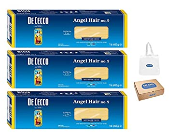 De Cecco Pasta Angel Hair 16 Ounce  Pack of 3
