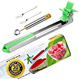 Premium Windmill Watermelon Cutter Slicer Knife Stainless Steel...