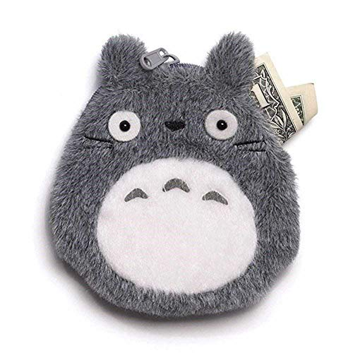 GHIBLI - Totoro Geldbörse grau (14cm)