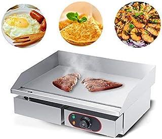 Olibelle 1800W Plancha de Table Electrique en Inox Barbecue