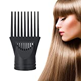 Comb Attachment for Blow Dryer, Universal Hair Dryer Comb Attachment, Professional Hair Styling Combs and Pik for Smoothing/Straightening Hair, Only Compatible with Nozzle Diameter 1.69in to 1.81in