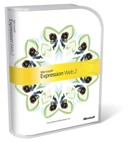 Microsoft Expression Web - ( v. 2.0 ) - upgrade package - 1 workstation - DVD - Win - English