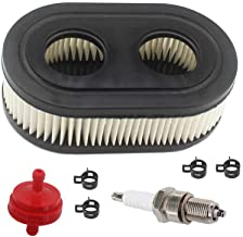 AISEN Air Filter for Briggs & Stratton 550EX 625EX 725EXi 09P702 Series Vertical OHV Engines Tune Up Kit with Fuel Filter Upgrade