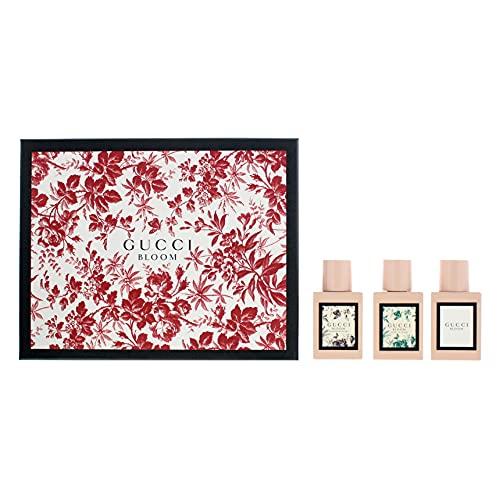 Gucci Bloom Eau de Parfum 30 ml, Bloom Acqua Di Fiori Edt 30 ml & Bloom Nettare Di Fiori Edp 30 ml