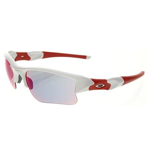 55013c08cbf Oakley Men s Flak Jacket XLJ OO9009-16 Rectangular Sunglasses