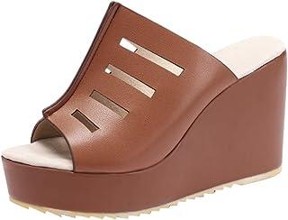 81f0c9320e889c Amazon.fr : mules sexy - Marron / Mules et sabots / Chaussures femme ...