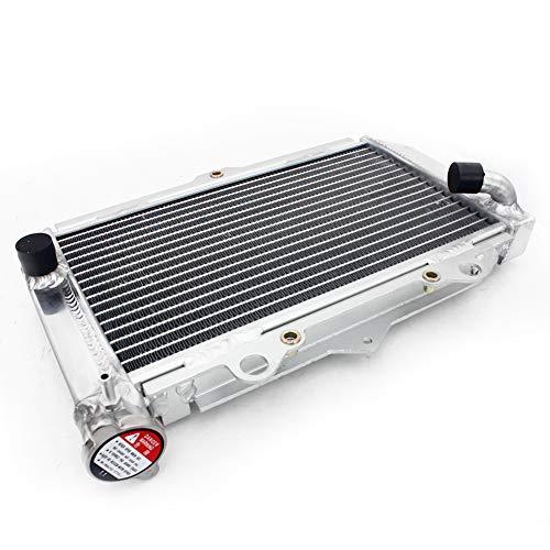 TARAZON ATV Moto Radiador Enfriamiento de Aluminio para Yamaha YFZ 450 YFZ450 2004-2009 2012 2013, refrigeración del motor