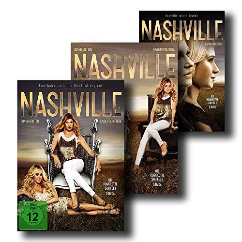 NASHVILLE – Die kompletten Staffeln 1 + 2 + 3 [15 DVD-Set]