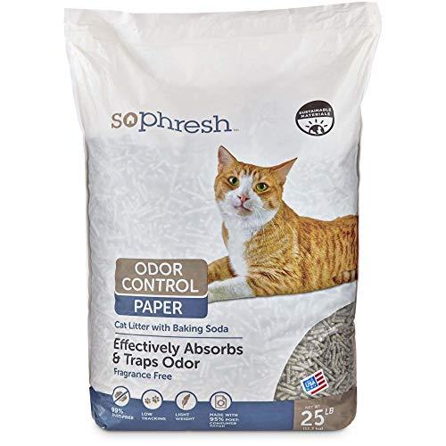 Petco Brand - So Phresh Odor Control Paper Cat Litter, 25 lbs.