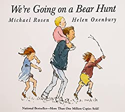 Literature unit study for we're going on a bear hunt