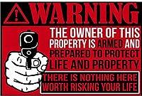 財産のためのJPettie警告サインは、ここであなたの人生長期的な長期にわたる価値がある価値がありません