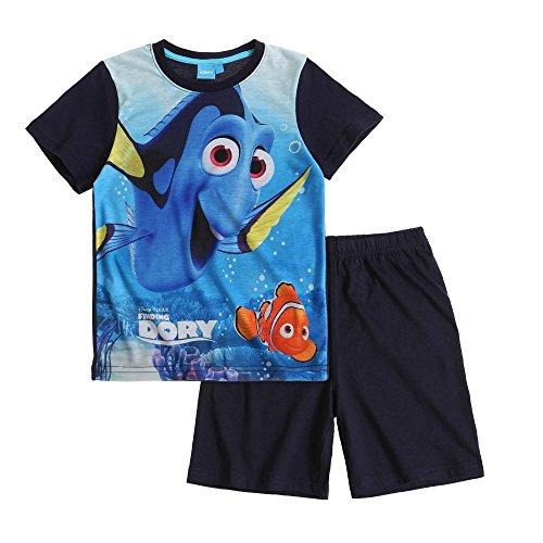 Disney Findet Dory, Nemo, Shorty Pyjama, dunkelblau, Gr. 98-128 Größe 104