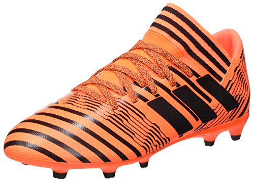 adidas Jungen Nemeziz 17.3 FG JR S82428 Fußballschuhe, Mehrfarbig (Solar Orange/core Black/core Black), 38 2/3 EU