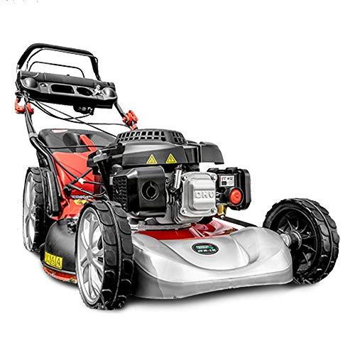 Powertec Garden 5in1 Benzin Rasenmäher BW 56-2 ES 3,5 kW Mulchmäher E-Start