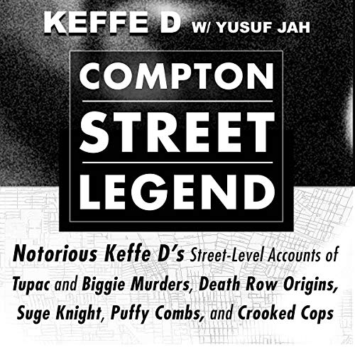 Compton Street Legend audiobook cover art