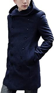 [meryueru(メリュエル)] 【在庫限り】ダブルボタン ビッグフード ダウンコート 大人 カジュアル 秋 冬 春 メンズ
