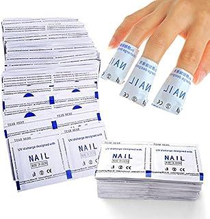 Elite99® 50/100/150/200pcs Gel Polish Remover Wraps Pads de uñas Limpiador Manicura w/acetona