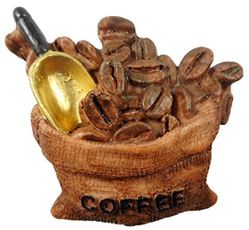 N / A Magnet Coffee 6 x 5 cm Kaffee Kühlschrankmagnet Figur Deko E34