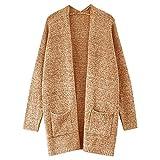 PLENTOP Winter Coat Mens Slim Cardigan Sweaters Galaxy Sweaters for Boys Mens Thin Cardigan Sweaters Automotive Clear Coat Khaki