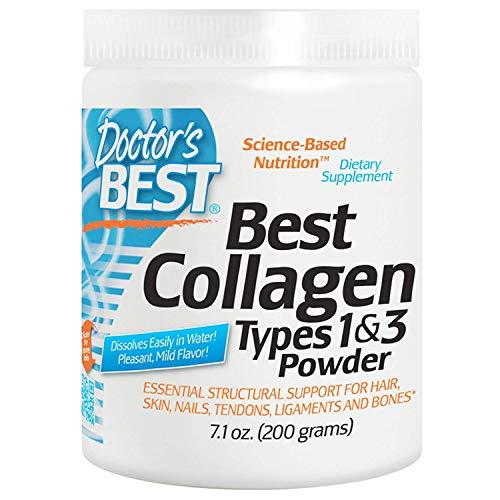 Doctor's Best, Best Collagen, Types 1 & 3, Powder, 7.1 oz (200 g) - 2pc