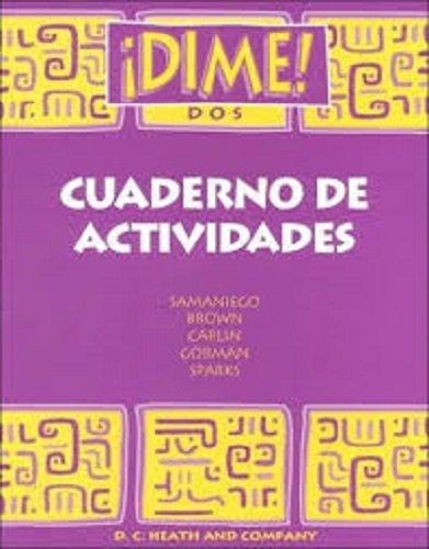 Dime DOS Cuaderno (McDougal Littell Dime) (Spanish Edition)