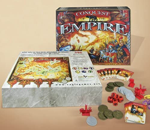 Precio al por mayor y calidad confiable. Conquest of the Empire Board Game by Eagle Games Games Games  precios al por mayor