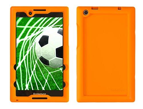 Bobj for Lenovo Tab 2 A8-50, A8-50F, also fits Lenovo Tab 3 TB3-850F, TB3-850M – BobjGear Protective Tablet Cover (Outrageous Orange)