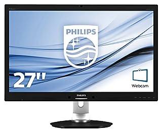"Philips Monitores 271P4QPJKEB/00 - Monitor de 27"" (resolución 1920 x 1080 Pixels, tecnología WLED, Contraste 5000:1, 6 ms, VGA), Color Negro (B009O73YTE) | Amazon price tracker / tracking, Amazon price history charts, Amazon price watches, Amazon price drop alerts"