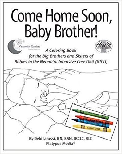 Come Home Soon, Baby Brother!: 5-pack with crayons