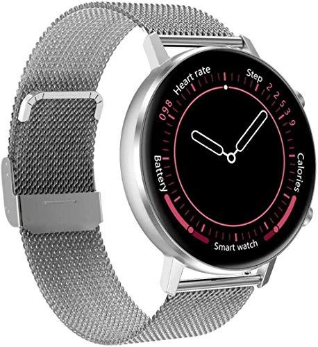 Pulsera inteligente Modo deportivo Ritmo cardíaco Presión arterial Detección de oxígeno en sangre Reloj inteligente Llamada SMS Recordatorio Bluetooth Música Reloj inteligente (Color: A)-A-C