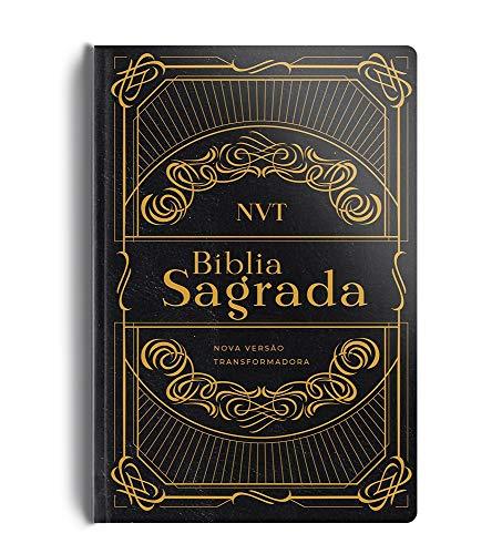 Bíblia NVT - Capa semi luxo preta