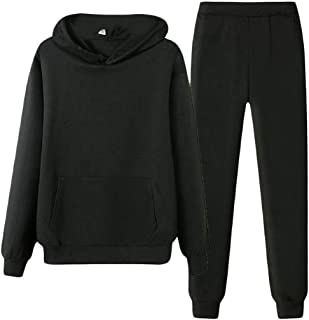 Womens Two Piece Sweatsuit Outfits Sport Top Hoodies and Long Pants Tracksuit Jumpsuit