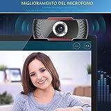 Zoom IMG-2 webcam 1080p per pc con