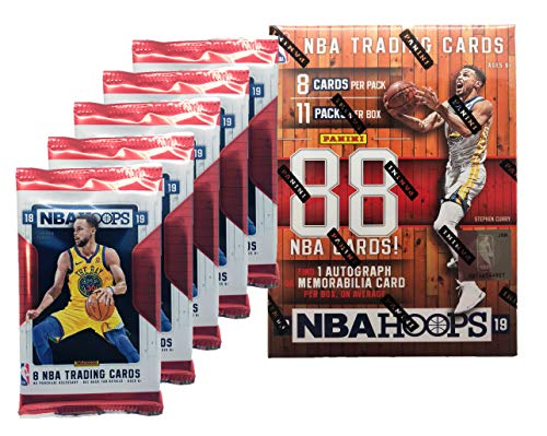 2018 - 2019 NBA Hoops Factory Sealed Basketball Cards w/ 1 AUTOGRAPH OR MEMORABILIA Card Per Box!!