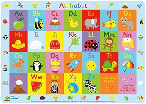 Little Wigwam - Mantel con el abecedario (en ingles)