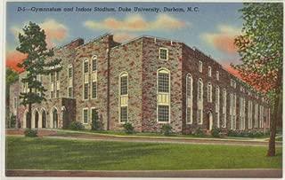Early Cameron Indoor Stadium (Duke University) (Vintage Durham North Caroline Postcard) #1B-H10