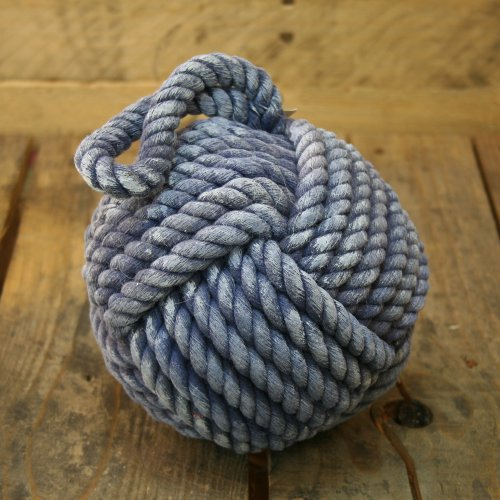 Carousel Home Qualität Blau Seil Türstopper ~ 15cm Türstopper Seemannsknoten