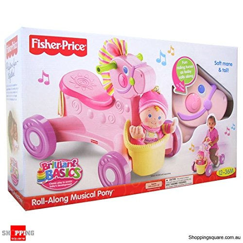 Fisher Price - Andador Pony Musical Rosa