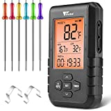 Best Wireless Bbq Thermometers - Amzdeal Wireless Bluetooth Meat Thermometer for Grilling Review