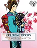 PRINCESS KIMONO Japan Dress Design Women Fashion Coloring Book: Anti stress Adults Coloring Book to Bring You Back to Calm & Mindfulness